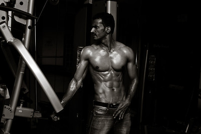 Fitness photography in India.