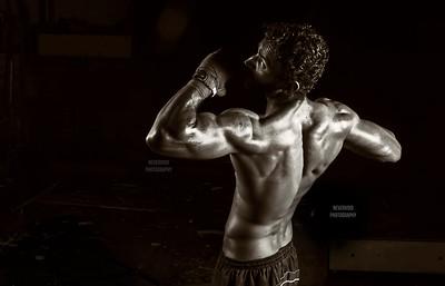 Mandeep Mandu - Fitness model, India.