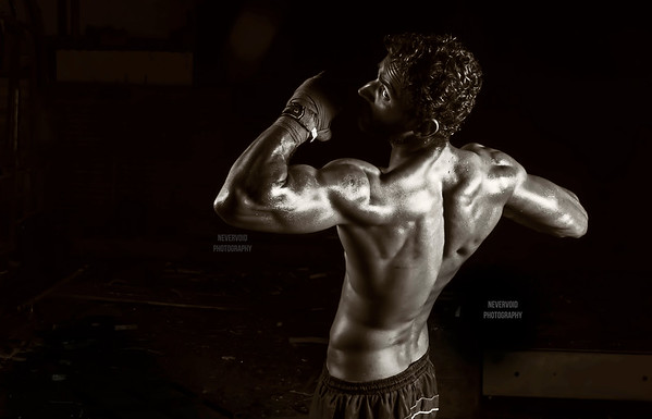 Mandeep Mandu - Fitness model, India.
