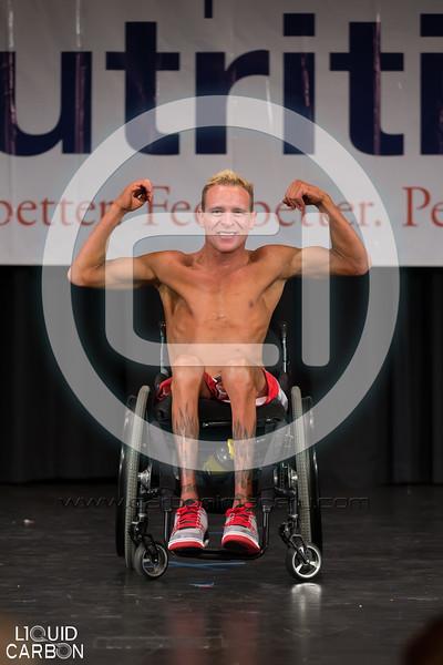 Bodybuilding Wheelchair - Prejudging