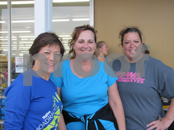 Patty Croonquist, Mel Patterson, and Cara Ford