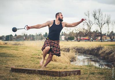 John Logan Van Buren Arnold Highland Games