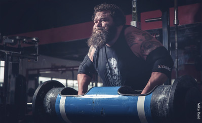 Robert Oberst, Worlds Strongest Man finalist.