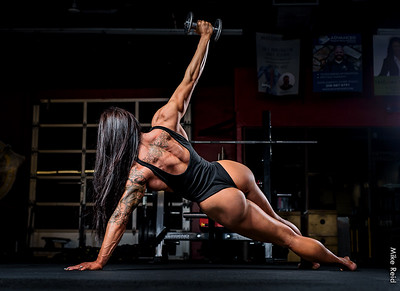 IFBB Figure Pro Bailey Breedlove