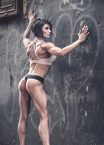IFBB Figure Pro Tashia Butler