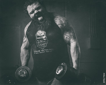 Robert Oberst...Worlds Strongest Man finalist