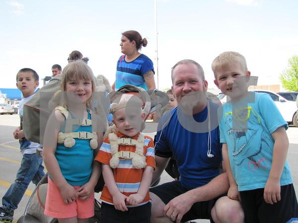 Sarah, Jeremiah, Darren, and Noah Francis