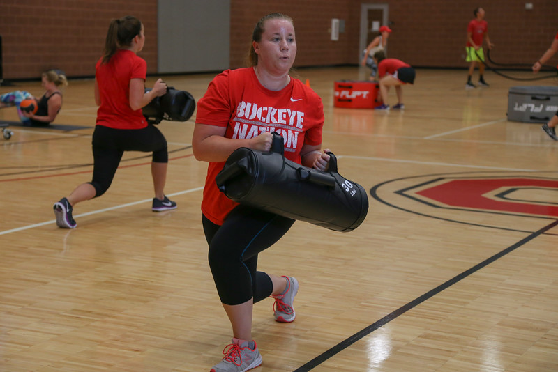 Buckeye Bootcamp and Zumba Step fitness classes