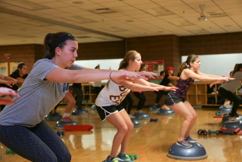 BOSU Group Fitness Class