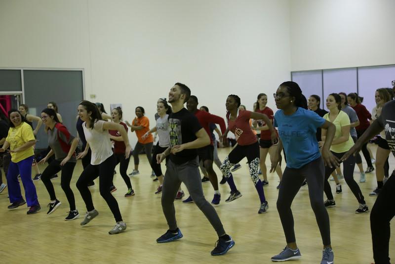 Late Night Zumba Group Fitness
