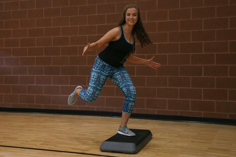 Buckeye Bootcamp and Zumba Step fitness classes