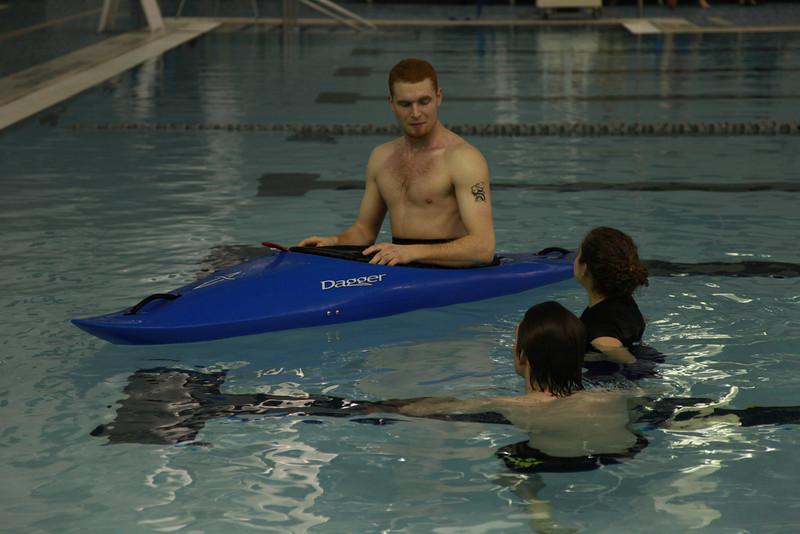Kayak Roll Clinic