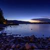 Nightfall at Lake Tahoe
