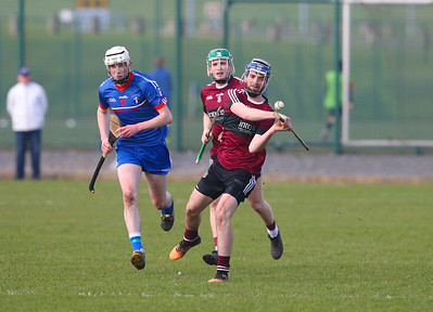 22/02/2019. Fitzgibbon Cup at WIT. Electric Ireland Fergal Maher Cup Semi Final MIC Thurles V St Marys. Pictured is St Marys Danny Shaw. Picture: Patrick Browne