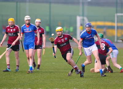 22/02/2019. Fitzgibbon Cup at WIT. Electric Ireland Fergal Maher Cup Semi Final MIC Thurles V St Marys Michael McGeevy. Picture: Patrick Browne