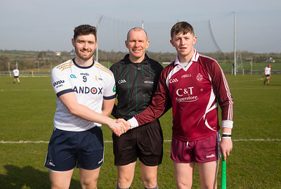 22/02/2019. Electric Ireland Fergal Maher Cup Semi Final Marino V Ulster UIniversity Coleraine. Picture: Patrick Browne