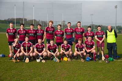 22/02/2019. Fitzgibbon Cup at WIT. Electric Ireland Fergal Maher Cup Semi Final MIC Thurles V St Marys. Pictured is the St. Marys Team Picture: Patrick Browne