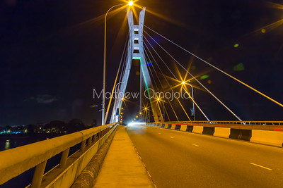 Some Night Scenes Lagos Nigeria