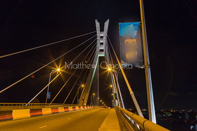 Five Cowries Creek Lagos Nigeria at night