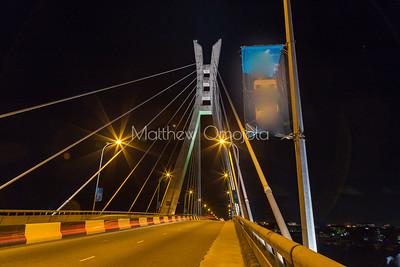Five Cowries Creek Lagos Nigeria at night