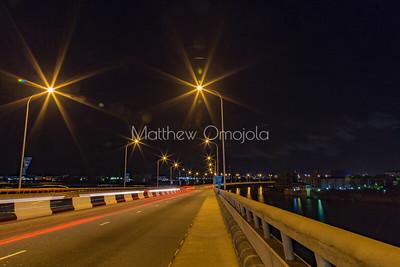 Some Night Scenes Lagos Nigeria