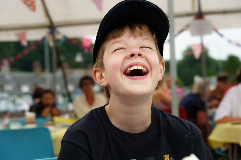 Laughter of a Boy