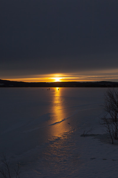 Gangåsvatnet 12 feb 2017