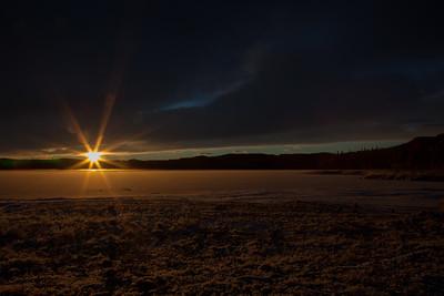Gangåsvatnet nov 2016