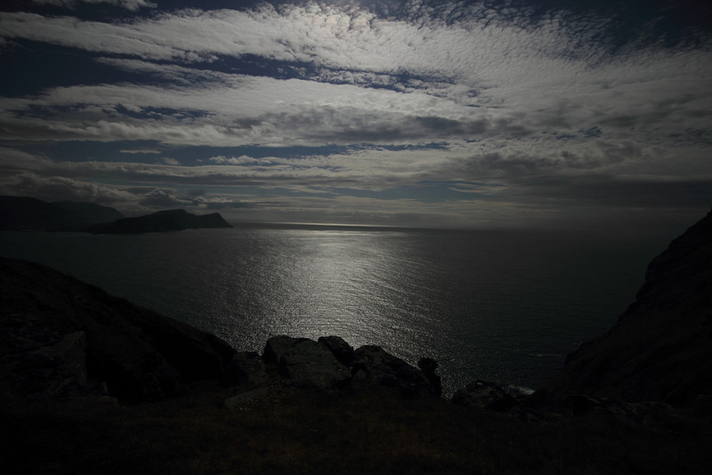 Looking south from the island Runde.