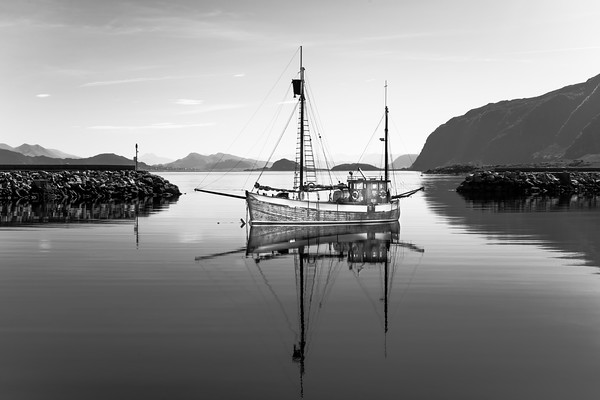 Godoya Island Sailboat, Norway