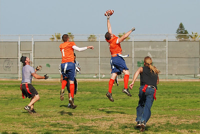 Deflecting extra point try