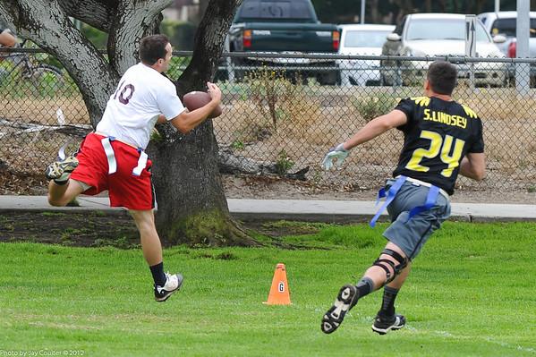 Touchdown catch.