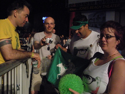 Conroy, Dietmar, Tamadude, Dive Mistress of the Dark holding krypton ball    (photo courtesy sockii)
