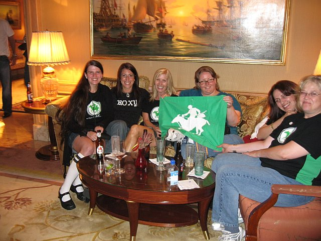 GinaSuperCat, Donna, nancyrose, DirtyMartini, Elsa, SamburuSunset<br /> <br /> <br /> (photo courtesy of Donna)