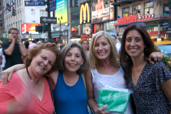 Lynne, Mimimph, nancyrose, Donna<br /> <br /> <br /> (photo courtesy of Takeshi)