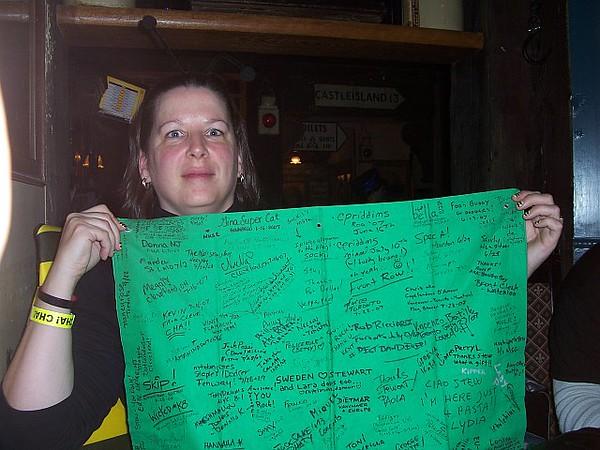 31 October 2007 - Madison Square Garden