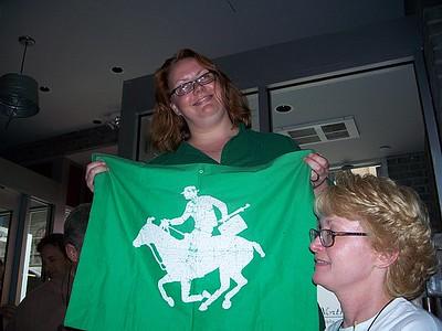 DirtyMartini holding the Flag, copeland_girl5   (photo courtesy of Susan)