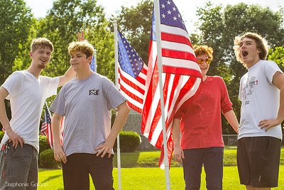 Memorial Day Flags 2018Wrightsboro United Methodist Church_19