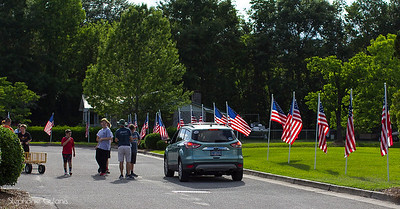 Memorial Day Flags 2018Wrightsboro United Methodist Church