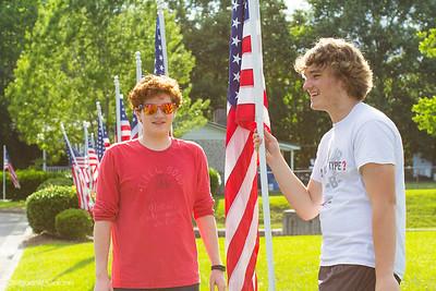 Memorial Day Flags 2018Wrightsboro United Methodist Church_13