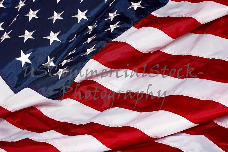 United States Of America Red White Blue Flag