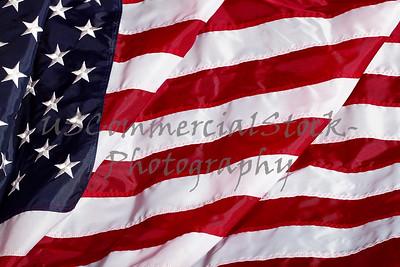 United States of American USA Flag closeup