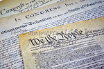 Constitution, Declaration of Independence and Bill of Rights