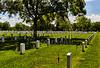 United States Flag on Grave Sites