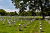 Arlington National Cemetery on Memorial Day
