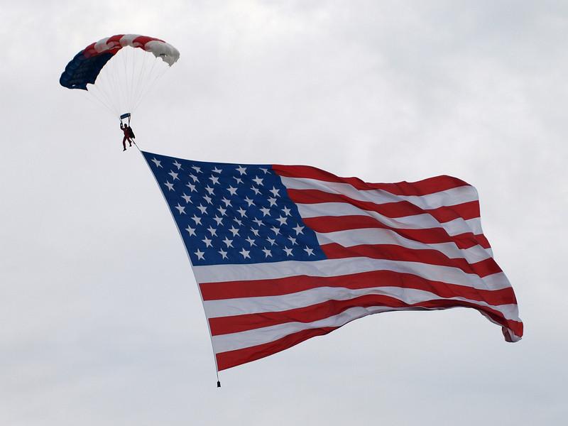 Air show, Andrews Air Force Base, May 2008.