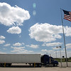 Truck stop, Independence, IA, 2008.