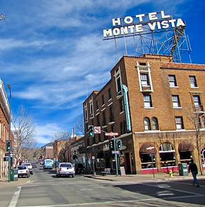 Historic Monte Vista Hotel in Downtown Flagstaff (2011)