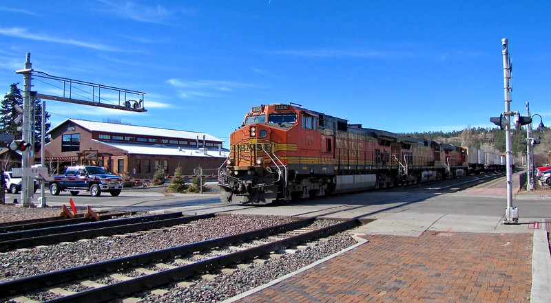 BNSF Railway in Flagstaff (2011)