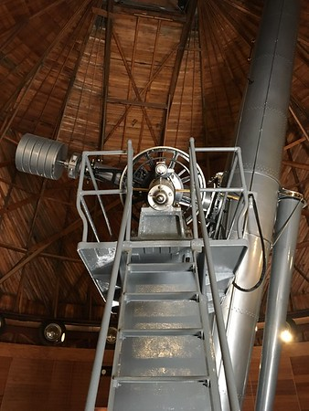 Main telescope at Lowell Observatory (2017)